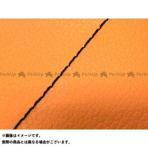 【エントリーで最大P19倍】Grondement ディオフィット シート関連パーツ ディオフィット 国産シートカバー オレンジ タイプ:張替 仕様:黒ステッチ グロンドマン