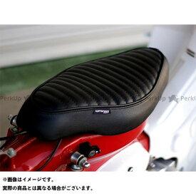 【無料雑誌付き】【特価品】KEPSPEED スーパーカブ50 シート関連パーツ カブ用 タックロール カスタムシート(ブラック) ケップスピード