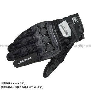 【雑誌付き】KOMINE メッシュグローブ GK-215 プロテクト3Dメッシュグローブ(3Dブラック) サイズ:3XL コミネ