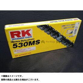 【無料雑誌付き】rk-japan 汎用 チェーン関連パーツ ストリート用チェーン 530MS(スチール) リンク数:98L アールケー・ジャパン
