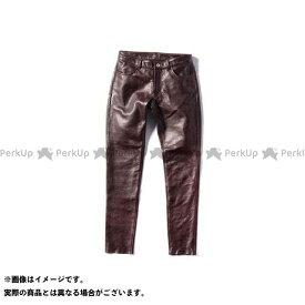 KADOYA カドヤ パンツ K'S LEATHER No.2268 LTR - PANTS レザーパンツ(ブラウン) WL