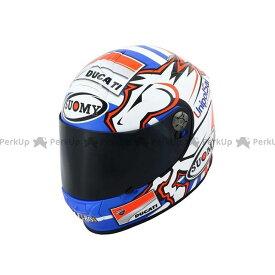 【エントリーで最大P21倍】スオーミー フルフェイスヘルメット SSR0033 SR-SPORT DOVIZIOSO GP-DUCATI サイズ:M/57-58cm SUOMY