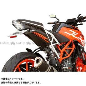 MotoCRAZY 125デューク 250デューク 390デューク フェンダー ステンレス製フェンダーレスキット KTM 125/250/390 DUKE(Y17-) モトクレイジー