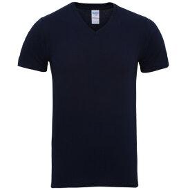 (ギルダン) Gildan メンズ プレミアムコットン Vネック 半袖Tシャツ 無地Tシャツ トップス 定番 男性用 【楽天海外直送】