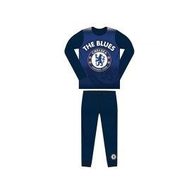 チェルシー フットボールクラブ Chelsea FC オフィシャル商品 子供用 長袖 パジャマ 上下セット 男の子 【楽天海外直送】