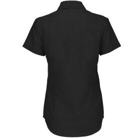 (ビー・アンド・シー) B&C レディース 半袖オックスフォードシャツ ワイシャツ ブラウス 女性用 【楽天海外直送】