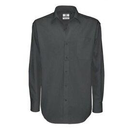 ( ビー・アンド・シー) B&C メンズ シャープ ツイルコットン ロングスリーブシャツ 長袖ワイシャツ ワークシャツ ビジネス 男性用 【楽天海外直送】