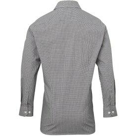 (プレミエ) Premier メンズ マイクロチェック 長袖シャツ ワイシャツ ワークシャツ 男性用 【楽天海外直送】