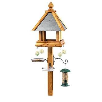 (汤姆钱伯斯)放供Tom Chambers野鸟使用的鸟桌子配饰安排饵台鸟馈线饲料鸟类观察