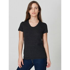 (アメリカン・アパレル) American Apparel レディース トライブレンド Tシャツ 半袖 カットソー トップス 【楽天海外直送】