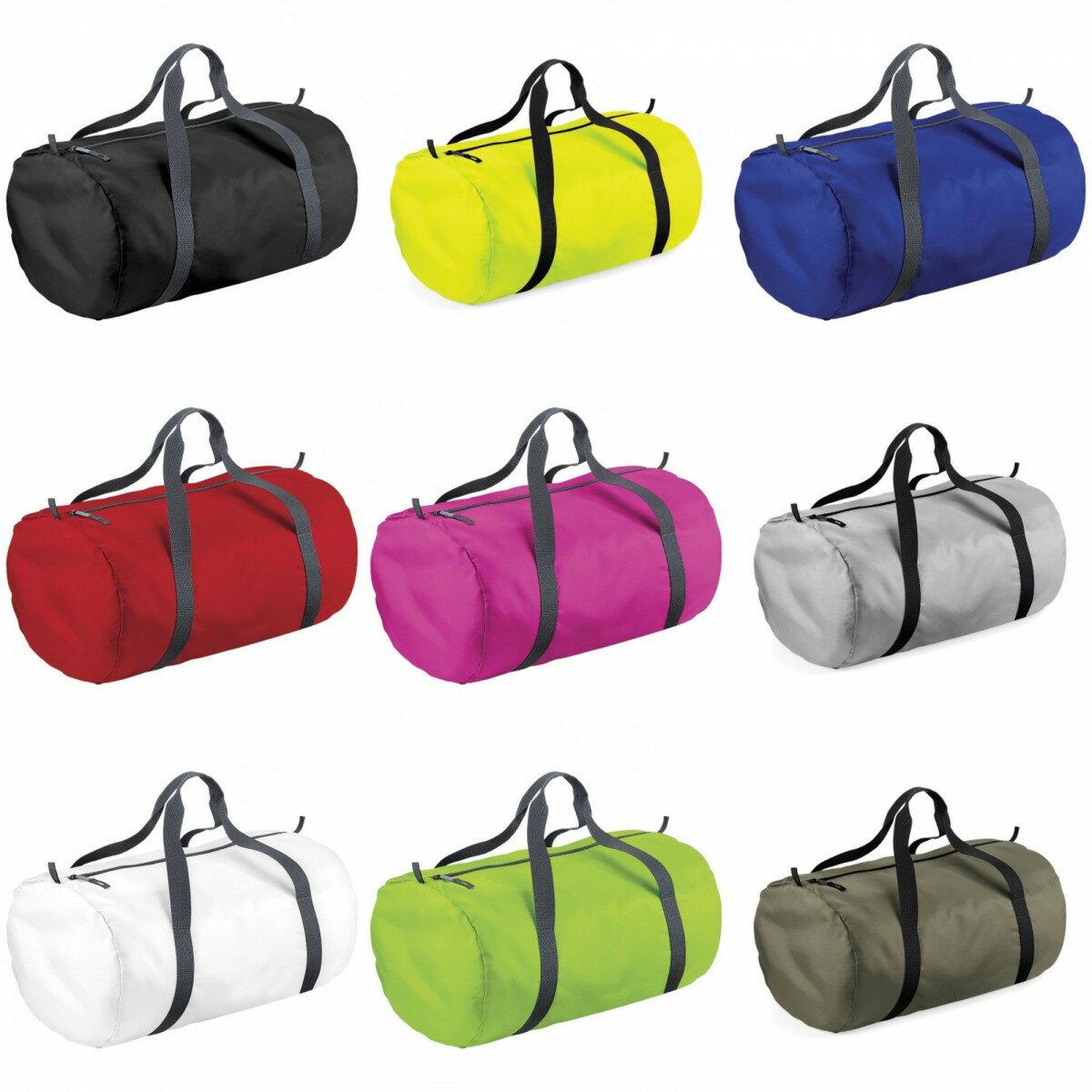 (バッグベース) BagBase 耐水加工 ドラムバッグ 筒型 ボストンバッグ ダッフルバッグ 旅行かばん (32L) 【楽天海外直送】