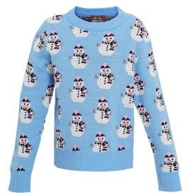 (クリスマスショップ) Christmas Shop キッズ・子供用 スノーマン クリスマスセーター ニットセーター 女の子 【楽天海外直送】
