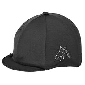 (キャップズ) Capz 乗馬用 Diamondz ホースヘッド スパンデックス キャップカバー ヘルメットカバー 帽子 馬術 ホースライディング 【楽天海外直送】