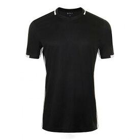 (ソールズ) SOLS メンズ Classico コントラスト 半袖 サッカー Tシャツ トレーニングシャツ 【楽天海外直送】