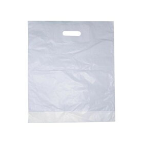 (キングフィッシャー) Kingfisher プレーン ホワイト プラスチックバッグ プラ袋 無地 (500枚入り) 【楽天海外直送】