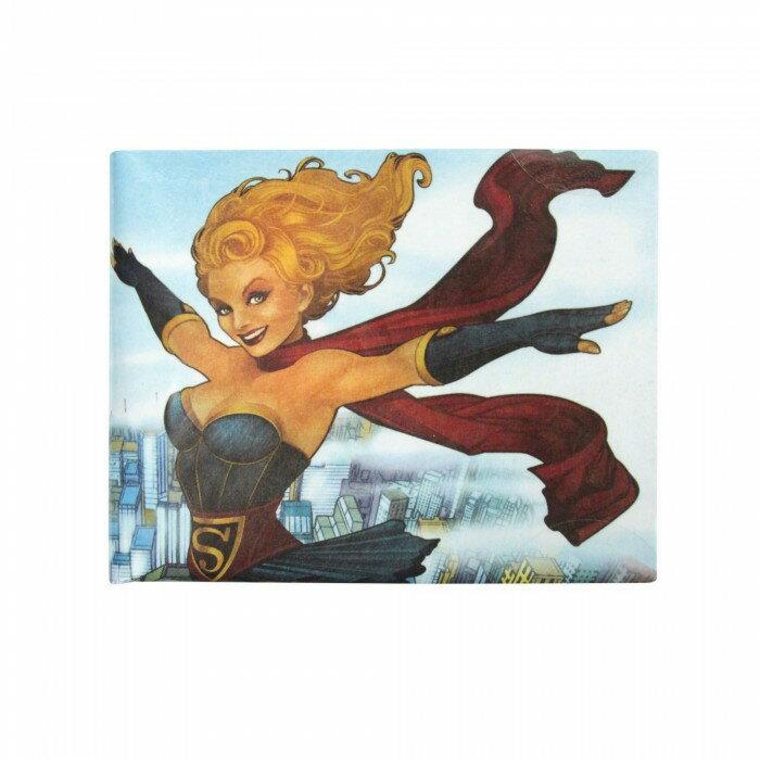 (DCコミックス) DC Comics オフィシャル商品 メンズ スーパーガール アメコミ 財布 ウォレット 【楽天海外直送】