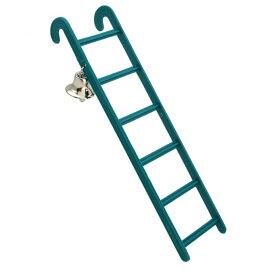(ビークス) Beaks 鳥用 プラスチック はしご ベル付き トイ ケージ用アクセサリー 鳥用おもちゃ ペット用 【楽天海外直送】