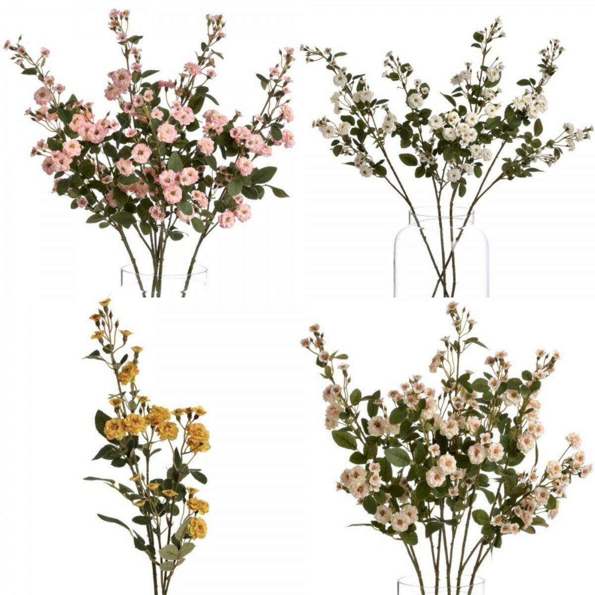 (ヒル・インテリアズ) Hill Interiors ワイルドメドウローズ アーティフィシャルフラワー 造花 インテリア雑貨 【楽天海外直送】