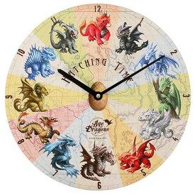 (エイジ・オブ・ドラゴンズ) Age Of Dragons 時計 Hatching Time 掛け時計 (34cm) 【楽天海外直送】