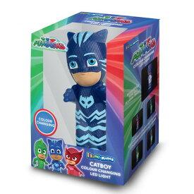 (しゅつどう!パジャマスク) PJ Masks オフィシャル商品 Illumi-Mates キャットボーイ キャラクター ライト ランプ 【楽天海外直送】