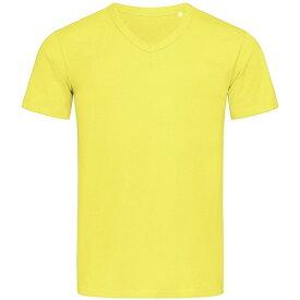 (ステッドマン) Stedman Stars メンズ Ben Vネック 半袖 Tシャツ 無地 【楽天海外直送】