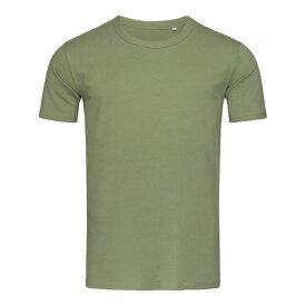(ステッドマン) Stedman Stars メンズ Morgan クルーネック 半袖 Tシャツ 無地 【楽天海外直送】