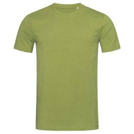(ステッドマン) Stedman メンズ James オーガニック コットン クルーネック 半袖 Tシャツ 無地 【楽天海外直送】