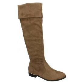 (スポットオン) Spot On レディース ロングブーツ 婦人靴 カジュアル ローヒール ブーツ 女性用 【楽天海外直送】