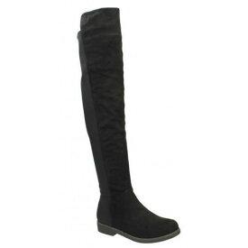 (スポットオン) Spot On レディース フラット ニーハイブーツ 婦人靴 カジュアル 膝上 ブーツ 女性用 【楽天海外直送】