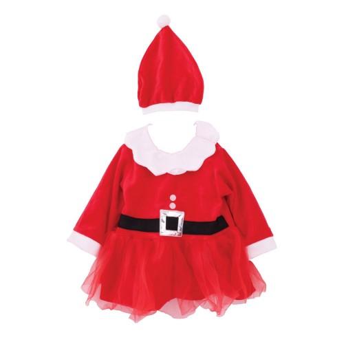 (クリスマスショップ) Christmas Shop 子供用 サンタコスチューム 衣装 コスプレ 女の子 【楽天海外直送】