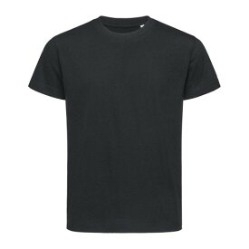 (ステッドマン) Stedman キッズ・子供用 Jamie Organic オーガニック コットン 半袖 Tシャツ 無地 【楽天海外直送】