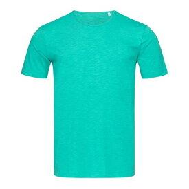 (ステッドマン) Stedman Stars メンズ Shawn スラブ クルーネック 半袖 Tシャツ 無地 【楽天海外直送】