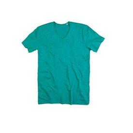 (ステッドマン) Stedman メンズ Shawn スラブ Vネック 半袖 Tシャツ 無地 【楽天海外直送】