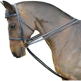 (キンケード) Kincade 馬用 レザー ドローレイン 折り返し手綱 セット 乗馬 ホースライディング 【楽天海外直送】