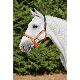 (キンケード) Kincade 馬用 デラックス ウェビング ヘッドカラー レザークラウン 頭絡 馬具 乗馬 ホースライディング 【楽天海外直送】