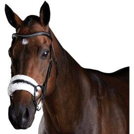 (カレッジエイト) Collegiate 馬用 Comfitec シープスキン レザー ブライドル 頭絡 馬具 乗馬 ホースライディング 【楽天海外直送】