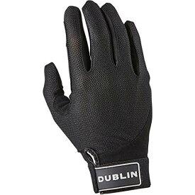 (ダブリン) Dublin メンズ メッシュバック ライディンググローブ 面ファスナー留め 乗馬 手袋 ホースライディング 【楽天海外直送】