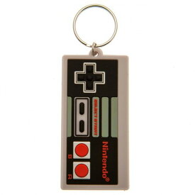 (任天堂) Nintendo オフィシャル商品 レトロ ファミコン コントローラー キーホルダー 【楽天海外直送】