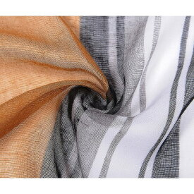(イントリーグ) Intrigue レディース Colour Block Stripe カラーブロック ストライプ柄 プリント スカーフ ストール 【楽天海外直送】