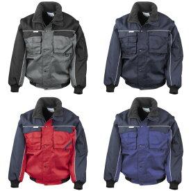 (リゾルト) Result メンズ Workguard 袖取り外し可能 撥水・防風 作業ジャケット アウター オーバー ワークウェア 【楽天海外直送】