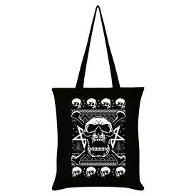(グラインドストア) Grindstore オフィシャル商品 Skull Fury スカル トートバッグ エコバッグ 【楽天海外直送】