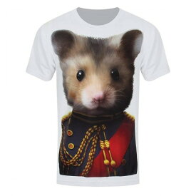 (グラインドストア) Grindstore オフィシャル商品 メンズ スクウィーク提督 ネズミ プリント 半袖 Tシャツ 【楽天海外直送】