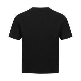 (スキニー・フィット) Skinni Fit レディース オーバーサイズ スクエア 半袖 クロップドTシャツ 【楽天海外直送】