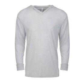 (ネクスト・レベル・アパレル) Next Level Apparel ユニセックス Tri-Blend フードつき 長袖 Tシャツ カットソー 【楽天海外直送】