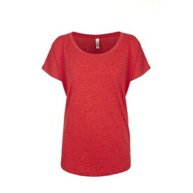 (ネクスト・レベル・アパレル) Next Level Apparel レディース Tri-Blend Dolman ドルマン 半袖 Tシャツ 【楽天海外直送】