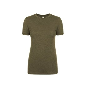 (ネクスト・レベル・アパレル) Next Level Apparel レディース Tri-Blend 半袖 Tシャツ 【楽天海外直送】