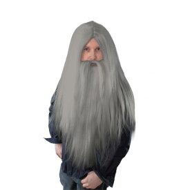 (ブリストル・ノベルティー) Bristol Novelty ハロウィン コスプレ・仮装用 仙人 魔法使い ひげとウィッグ コスチューム小物 【楽天海外直送】