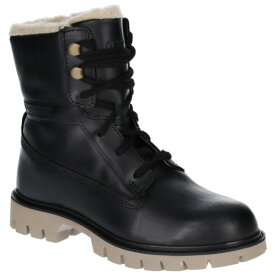 (キャタピラー) Caterpillar レディース Basis ファー レースアップ レザーブーツ 婦人靴 カジュアル フラット ブーツ 女性用 【楽天海外直送】