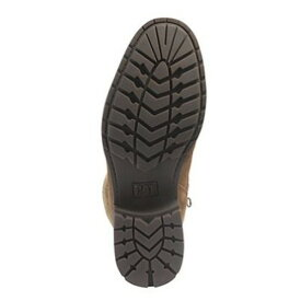 (キャタピラー) Caterpillar レディース Lifestyle フェイクファー スエード レースアップブーツ 婦人靴 カジュアル フラット 女性用 【楽天海外直送】