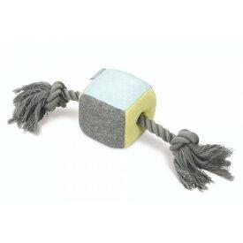 (ビーズティース) Beeztees ワンちゃん用 プラッシュキューブとロープ パピートイ 子犬用 おもちゃ ペット用品 【楽天海外直送】